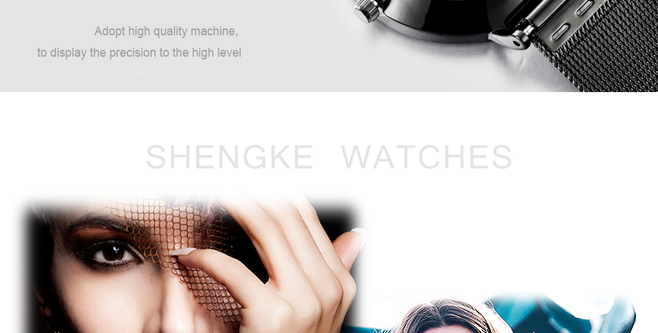 Shengke New Arrival Women Watches Fashion Bracelet Ladies Dress Women wristwatches Quartz watch Relogio feminino Reloj mujer SK