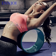 ENNJOI  Yoga Wheel ABS Pilates Magic Yoga Circle Ring Gym Workout  Back Training Tool Yoga Wheel for Fitness Exercise Home