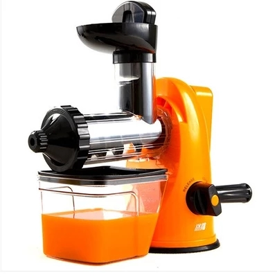 Household healthy manual slow food juicer extractor fruit vegetable wheatgrass juice squeezing machine<br>