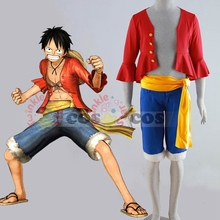 Hot anime cosplay Halloween costumes for adult One Piece Cosplay costume Monkey D Luffy cosplay costume suit ONE PIECE