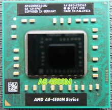 Original AMD A8 4500M  a8 4500M laptop CPU Quad Core A8-4500M 1.9G Socket FS1 A8-Series Notebook in stock can work
