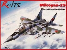 "RealTS ICM model 72141 1/72 MiG-29 ""9-13"" ""Fulcrum C"", Soviet Frontline Fighter plastic model kit(China)"