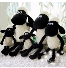 Shaun the Sheep Plush Mascot Plush Doll Animated Sheep Toys Cartoon Baby Toys with Children's Activities for Holiday gift