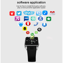 3G Wi-Fi X86 Bluetooth Watch Wearable Device Sim Card Camera Playstore Mobile Phone Watch Android Smartwatch for Android VS KW18(China)