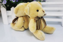 1pc Soft Plush Stuffed Mini Brown Toy Cute Cartoon Bear Toys Petty Small Doll Gift for Lover