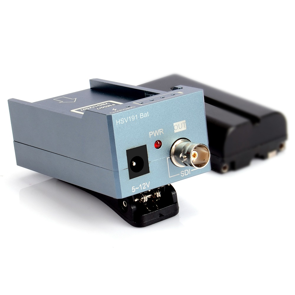 HSV191Bat HDMI to SDI Converter with Battery Charging 1080p Mini HDMI to SD-SDI HD-SDI 3G-SDI Adapter Converter (8)