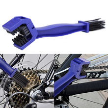 Motorcycle Chain Cleaner Bicycle Cycling Crankset Chain Brush Tool Gear Brush Chain Wheel Flywheel Cleaning Brush