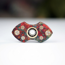 """Floral Edition"" fingertips spiral fingers gyro stabilized wood decompression toys SKF imported ceramic bearings Hand Spinner(China)"