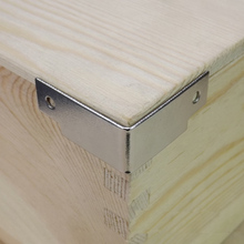 20pic corner bracket wooden case package right angle air backplate tool box corner bag hardware part furniture equipment corner