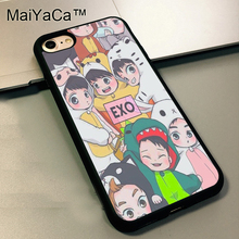 MaiYaCa Exo Pop Korean Boy Band Music Phone Cases for iphone 5s SE case for iphone 5 case Soft TPU Phone Cover Rubber Shell Skin