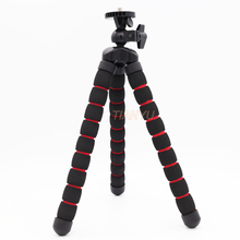 Whole sale Octopus Leg Flexible Tripod with 360 Rotating Ball Head 1/4 -20 Camera mount and rubber feet for Digital Camera