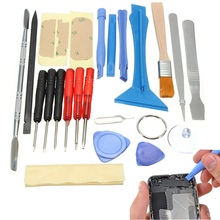 Universal 22 in 1 Mobile Phone Opening Pry Repair Tool Kits Screwdrivers Set For iPhone6 For 6 Plus For 5S For 5C(China)