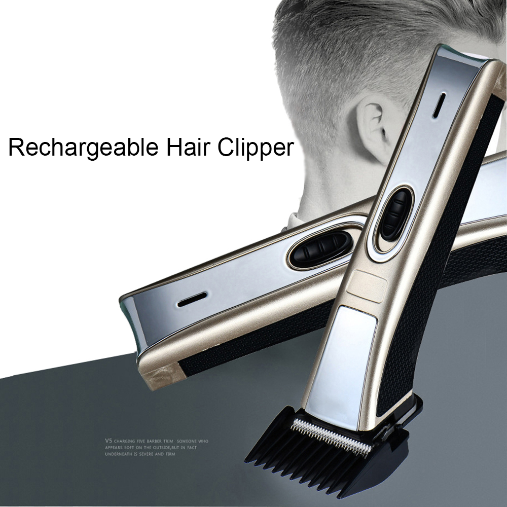 Professional Hair Clipper Electric Hair Trimmer Fader Rechargeable Adult Children Shaving Hair Cutting Machine<br>