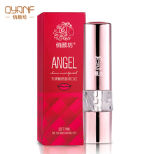 QYANF Hot Sale Brand natural Waterproof Liquid Lip Gloss Nutritious Moisturizer Makeup Collagen Nourish Multi-Action Lip Color(China)