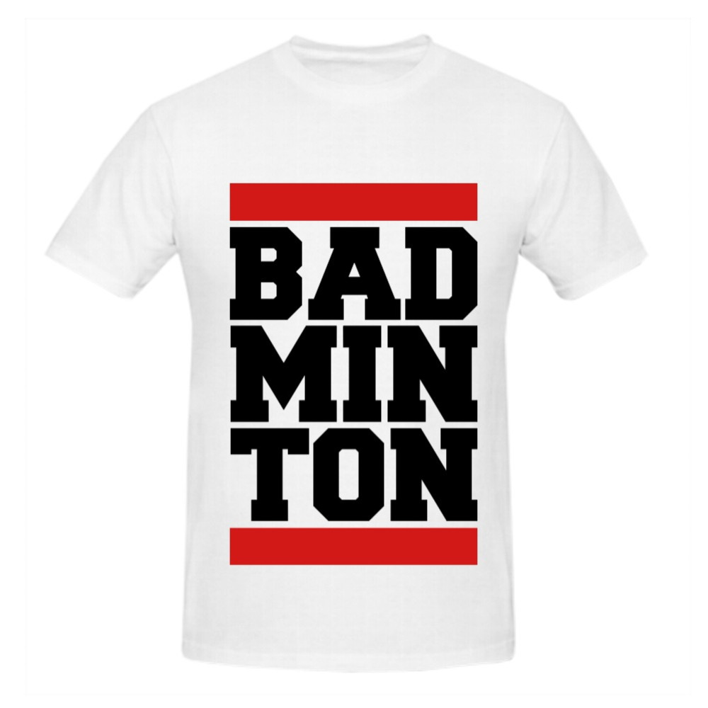 Design t shirt badminton - Design T Shirt Badminton Rttmall Custom Cotton Short Sleeve Badminton Design Men T Shirt Big