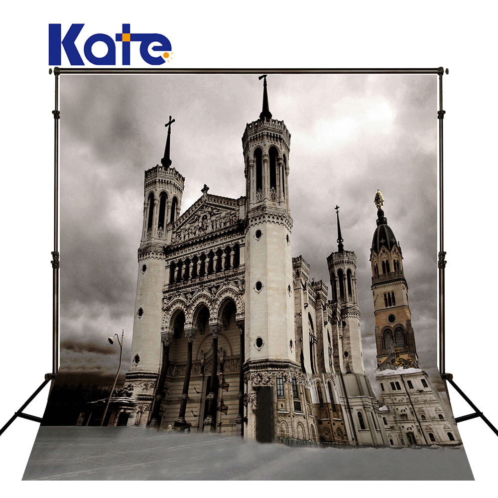 10x10ft Kate Retro Castle Photography Background Church Backdrop Washable and Wrinkle Free Photography Backdrops<br>