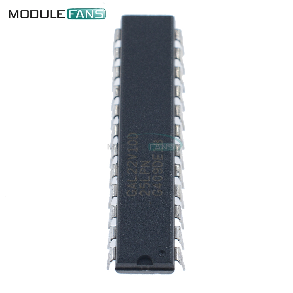 2PCS IC GAL22V10D-15LP GAL22V10D DIP-24 LATTICE NEW
