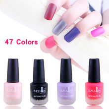 18ml Matte Dull Nail Polish Fast Dry Long-lasting Frosted Nail Art Varnish Lacquer Nail Color 47 Colors