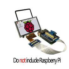 Raspberry Pi 5 inch LCD 5inch display and VGA Connector DPI driver(China)