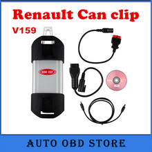 2017 Auto Diagnostic Interface for Renault Scanner Tool V159 Renault Can Clip support Multi-languages