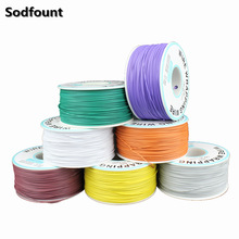 250 m/lots 30 AWG Wrapping Wire 10 Colors Single Strand Copper Cable Ok Wire Electrical Wire for Laptop Motherboard PCB Solder