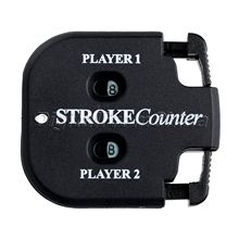 1Pc Golf Training Aid Golf Stroke Counter Shot Count Stroke Putt Score Counter Compteur Two Digits Scoring Keeper with Key Chain