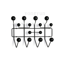 FREE SHIPPING Black color Edisson home as typical fashion candy Eeammes Hang It All coat rack hook coat hangers