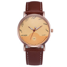 Luxury Fashion Crocodile Watches Women Mens Classic Faux Leather Wrist Watches Business Luxury Sport Relogio Masculino Feminino