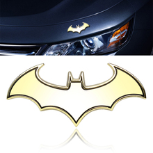 Motorcycle  Car Stickers Metal  Badge Emblem Car Styling  3D Cool Hot Sale Universal Batman Accessories #HP
