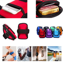 Running Bag Arm Wrist Band Hand Sport Mobile Phone Case For Huawei Honor 8 P8/P9/P10/Lite Hand Accessory Waterproof Wallet Pouch