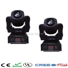 2pcs/lot Free&Fast shipping 60W Led Moving Head Light Spot/Pattern Rotation Gobo DJ Stage Disco Light 60W Nightclub Party Lights