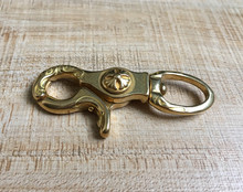 Solid Brass KeyChain Wallet Hook  Free shipping