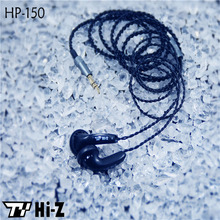 Original TY Hi-Z HP150 Portable Earphone High Sensitive Enduring Earbud Wired In-ear HiFi Flat Head Earphone Without Microphone(China)