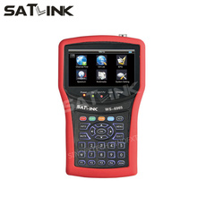 Satlink WS-6965 HD DVB-T2 signal finder meter 4.3inch LCD spectrum analyer Satlink finder ws6965