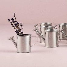 5CM Height Steel material watering can shape candy box pail wedding baby shower party