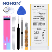 Original NOHON Battery for Apple iPhone 6 Plus 6Plus 6P 3250mAh Replacement High Capacity Phone Bateria + Free Tools Kit sticker(China)