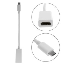 USB 3.1 Type C USB-C Male To HDMI Female 1080P 4Kx2K HDTV Adapter Cable For New Macbook 12""