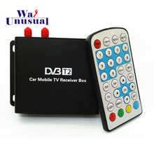HD DVB-T2 Double Tuner Digital TV Receiver Suit For Russia,Thailand,Singapore,Indonesia,Colombia... Car DVD Player Free Shipping(China)