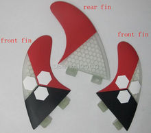 high quality FCS surf fins G5 surfing fins for surfboard Tri set Fiberglass hongey bomb