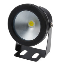 Led Underwater Light 10W 12v Cool White Warm White Waterproof IP68 Fountain Pool Lamp Black Cover Body For Outdoor(China)