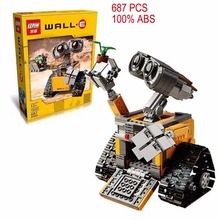 2016 Lepin 16003 Idea Robot WALL E Building Blocks Bricks Blocks Toys for Children WALL-E Christmas Birthday Gifts