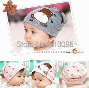 10pcs/lot free shipping baby hat Cartoon dog labeling head cap Boys &amp; Girls Hats 17cm x 17cm For 1-12 months of babyОдежда и ак�е��уары<br><br><br>Aliexpress