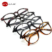 UVLAIK Spectacle Glasses Frames Fashion Glasses With Clear Glass Brand Optical Clear Transparent Glasses Women Men Frame(China)
