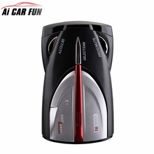 Radar Detector Mobile Speed Detection Radar Alarm Support English and Russian Voice Announcement XRS 9880/9345/9740(China)