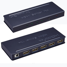 4k HDMI splitter 1X2 1x4 1x8 1 in 2 out 1 in 4 out 1 in 8 out support 4K 3D 1080p hdmi 1.4 with all hd equipment(China)