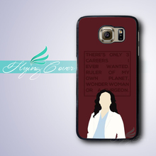 Coque Greys Anatomy Cristina Phone Cases for Samsung Galaxy S3 S4 S5 S6 S7 Edge Plus Case for Samsung Galaxy Note 7 5 4 3 Cover.