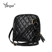 casual small plaid criss-cross handbags high quality ladies party purse women clutch famous shoulder messenger crossbody bags(China)
