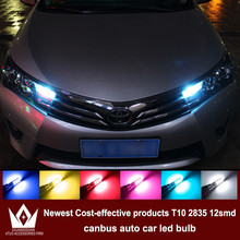 Tcart 4x LED CANBUS 2835 Chip Clearance Lights For toyota corolla avensis yaris rav4 hilux auris camry prius prado accessories(China)