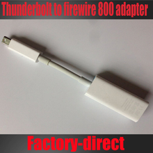 Free shipping 1PCS/lot Thunderbolt to FireWire 800 Adapter cable A1463/MD464ZM/A used white color
