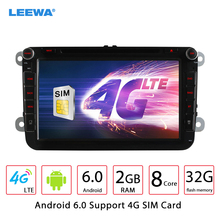 8'' Android 6.0 (64bit) DDR3 2G/16G/4G Car DVD GPS Radio For VW Golf 5/6/Polo/Passat/Jetta/Tiguan/Touran/Sharon/Amarok/Caddy/EOS